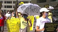 Activists reach day four in rally through Texas to protect voting rights