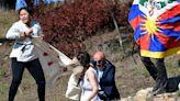Tibet Activists Sidetrack Beijing Winter Olympics Flame Ceremony