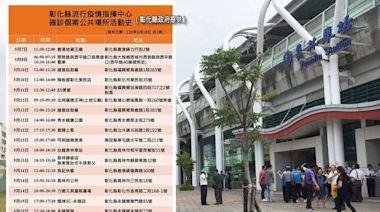 彰化縣今激增22例 火車站、公所等18處最新足跡曝光