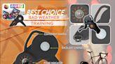 T-SOX自行車室內訓練台「雙外磁電控阻力訓練台」U.CR+ indoor Bike trainer