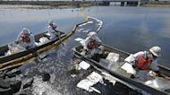 California crews race to contain massive oil spill