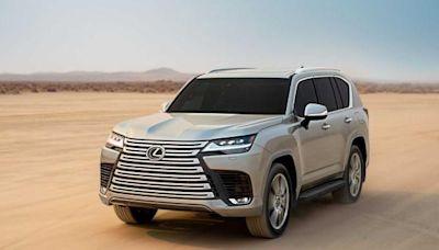 Lexus 大改款 LX 全球初登場!首次提供豪華四人座配置 - 自由電子報汽車頻道