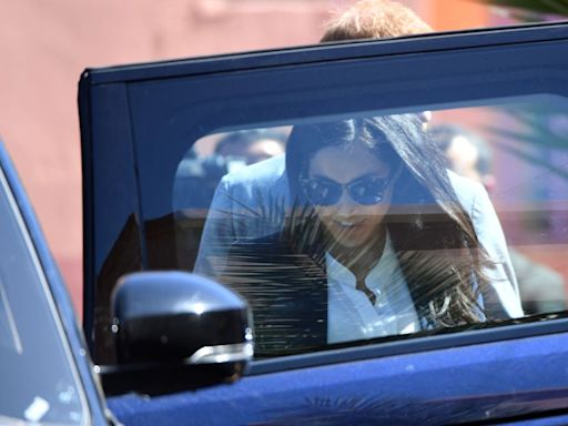Meghan Markle and Prince Harry Were Photographed Driving in Rare Santa Barbara Outing