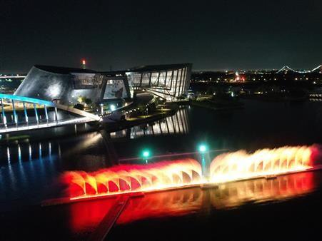 【打卡景點】故宮南院3D光影水舞秀,立體動感炫光水舞!