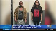 Brooklyn Lawyers Plead Guilty In Molotov Cocktail Attack