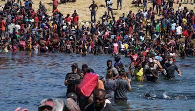 Why are so many Haitians at the US-Mexico border?