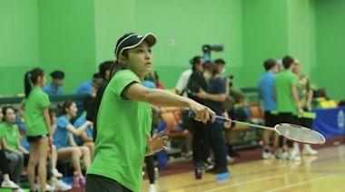 《明星運動會》羽毛球項目燃戰火 網球手李思雅羽毛球同樣出色