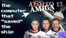 An INCREDIBLE find on this Apollo 13 computer!! Amiga movie magic