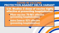 Encouraging news about COVID-19 vaccine against Delta variant