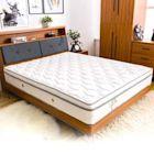 時尚屋 濱崎日式三段平四線6尺加大雙人床墊