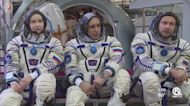 Russian actress filming movie on International Space Station