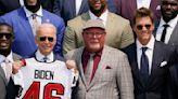 Brady, champion Bucs visit Biden at White House