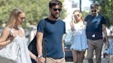 Roxy Horner strolls hand in hand with beau Jack Whitehall in London