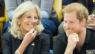 Prince Harry and First Lady Jill Biden Co-Hosted a Virtual Event