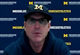 Michigan football's Jim Harbaugh on what led to Donovan Jeter's consistency
