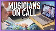 Non-Profit Brings Biggest Musicians To Hospital Patients