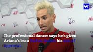 Seal of approval: Ariana Grande's brother Frankie Grande supports her new romance