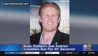Rudy Giuliani's Son Andrew Considers Run For NY Governor