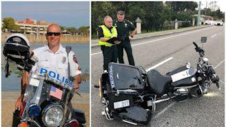 Lakeland officer killed in police motorcycle crash