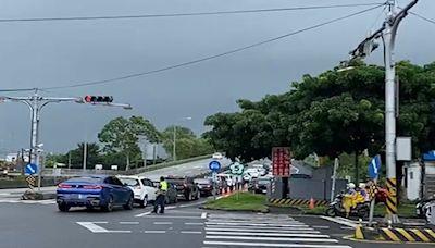 收假日遇颱風外圍環流影響 國五下午高乘載宜警籲用路人及早北返