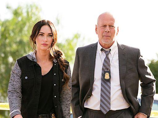 Bruce Willis mocked over 'astonishingly embarrassing' performance in Megan Fox film