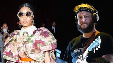 """Nicki Minaj still salty about """"white man Bon Iver"""" beating her at the 2012 Grammys"""