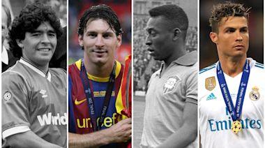Maradona, Pele, Messi or Ronaldo – just who is football's greatest player?