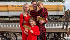 Tarek El Moussa and Heather Rae Young Celebrate First Christmas Together with His Kids