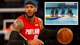 Carmelo Anthony finally reveals the truth about the banana boat