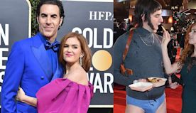 Sacha Baron Cohen's Wife Isla Fisher Admits Being Embarrassed to Go Out With Him