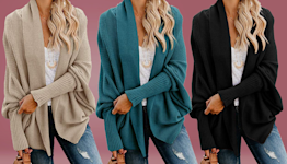 'Coolest sweater on Amazon': Catch this batwing cardigan on sale for $42 before it flies away