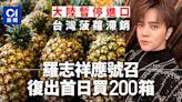羅志祥「小豬」響應恩師號召「團結買鳳梨」 復出首日買200箱