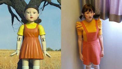萬聖節扮《魷魚遊戲》木頭人娃娃!派對後5件單品這樣搭 就能日常穿