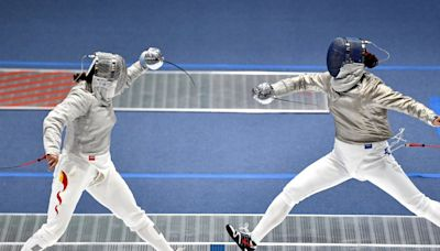 全運會佩劍團體賽香港男女子隊首圈止步