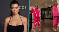Kourtney Kardashian's Daughter Penelope Models Mom's Heels For At-Home Fashion Show