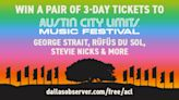 Win a Pair of 3-Day Tickets to Austin City Limits!