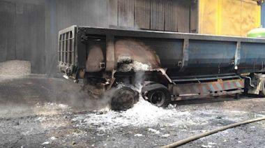 遭千度爐渣噴濺!豐興鋼鐵爐渣車爆炸工人1傷1命危
