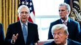 Trump denies that he has made up with Mitch McConnell
