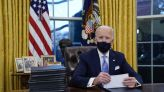 Biden signs executive actions on first day as president