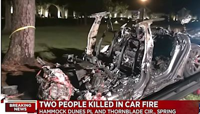Tesla Owner Was In Driver's Seat Before Fatal Crash, NTSB Report Says