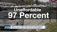 U of M study: Auto insurance is 'unaffordable' in 97% of Michigan zip codes