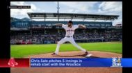 Chris Sale Tosses 5 Strong Innings, Strikes Out 7 In Rehab Start With Worcester