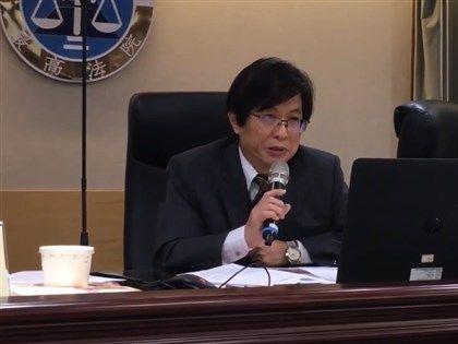 最高法院法官捲入翁茂鍾案 院長吳燦哽咽致歉[影]