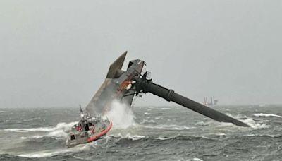1 dead, 12 missing after 190-foot lift boat capsizes off Louisiana coast
