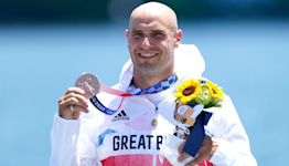 Liam Heath unsure whether to push for Paris 2024 after winning bronze