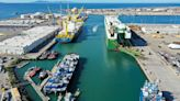 Port of Hueneme sees vessels filled to the brim as shippers avoid Los Angeles County ports
