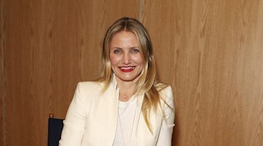Cameron Diaz' Baby Daughter's Favorite Food is the Absolute Weirdest