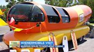 Oscar Mayer Wienermobile rolls through Fresno
