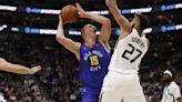 Nikola Jokic exits game against Utah Jazz with knee contusion