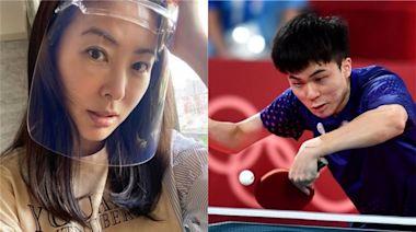校隊女兒和林昀儒比過桌球?賈永婕隨口一問 答案傻眼了